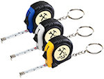 Rubber Tape Measure Key Tags